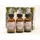 3 naturalne esencje 20ml (eukaliptus, gardenia, lawenda) Natura & Benessere