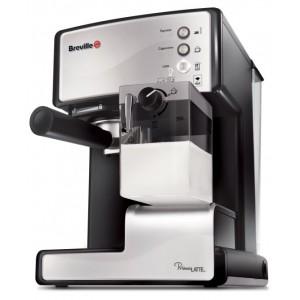Ekspres do kawy kolbowy Breville Prima Latte Srebrny