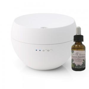 Stadler Form Jasmine aromatyzer biały + Naturalna esencja eukaliptusowa